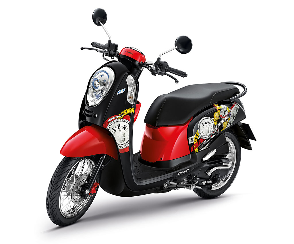 Honda Scoopy i Active Boy 2014 ACF110SFF (2TH) ปี 2014