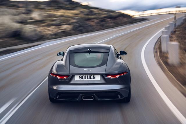 Jaguar F-Type 2.0 Litre Ingenium Petrol Coupe R-Dynamic ...