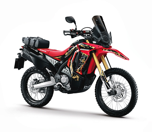 honda crf 250 rally h2c 2016 184 000. Black Bedroom Furniture Sets. Home Design Ideas