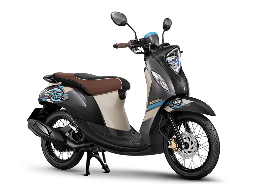 Yamaha Fino 125 Retro 2015 มอเตอร์ไซค์ราคา 46,000 บาท ยามา ...