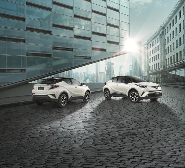 Toyota C-HR HV HI 2019 ราคา 1,159,000 บาท โตโยต้าซี-เอช