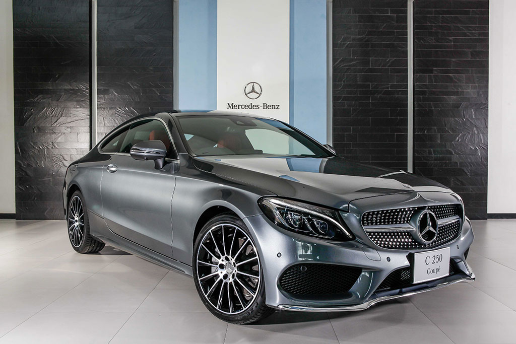 mercedes benz c class c 250 coupe amg dynamic 2016 3 590 000. Black Bedroom Furniture Sets. Home Design Ideas