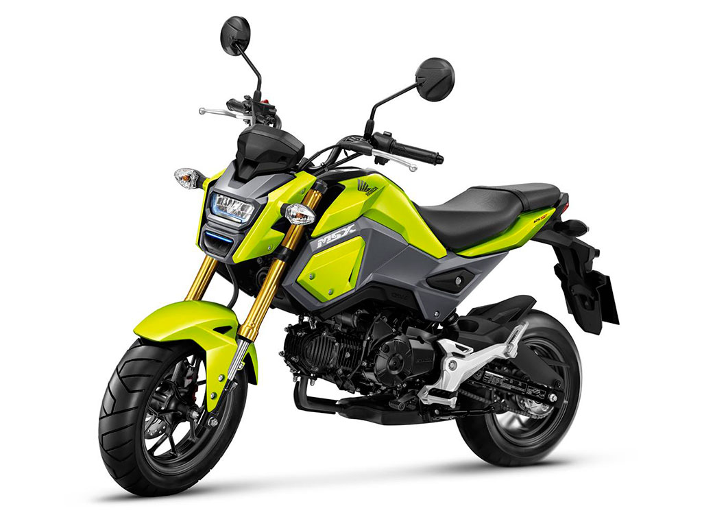Honda msx125 sf 2016 70 500 for Yamaha motorcycles thailand prices