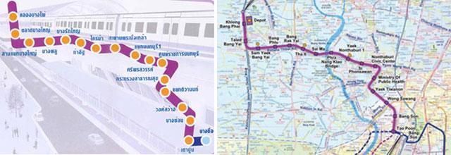 โครงการรถไฟฟ้ามหานครสายสีม่วง