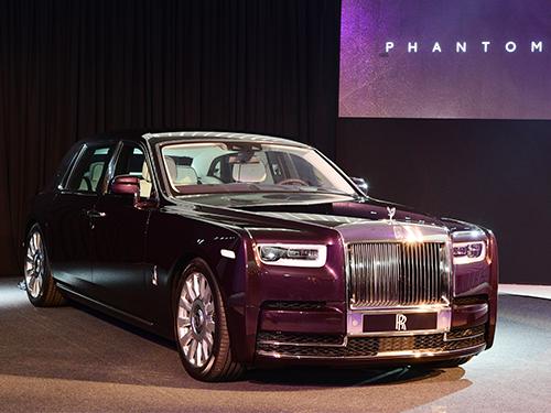 โรลส์-รอยซ์ Rolls-Royce-New Phantom Extended Wheelbase-ปี 2018
