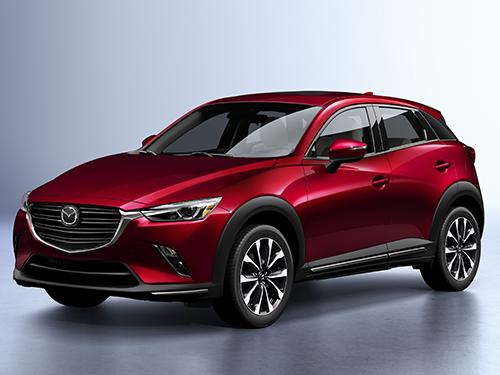 รถยนต์มาสด้า Mazda CX-3 Logo