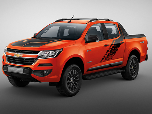 Chevrolet Colorado 2.5L High Country STORM 4X4 AT MY2018 ปี 2018 ราคา-สเปค-โปรโมชั่น