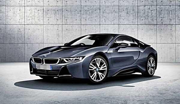 บีเอ็มดับเบิลยู BMW-i8 Protonic dark silver-ปี 2017