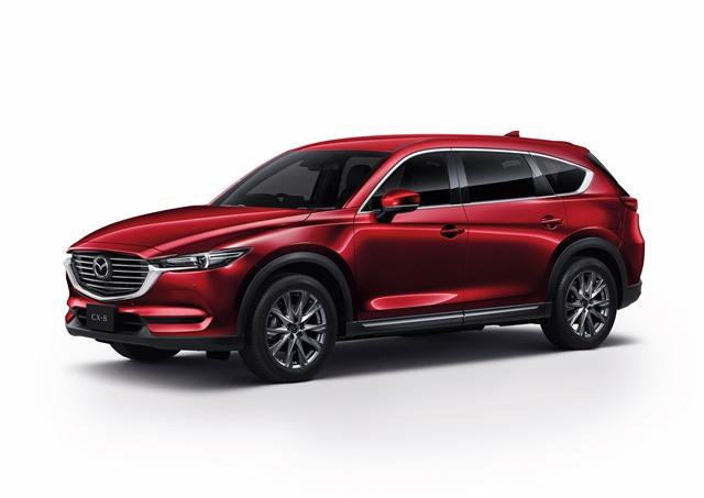 มาสด้า Mazda-CX-8 2.5 SP SKYACTIV-G 7 Seat-ปี 2019