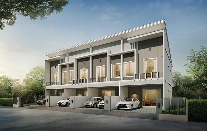 โมดิ วิลล่า รังสิต (ติดทางด่วน) (Modi Villa Rangsit) ราคา-สเปค-โปรโมชั่น