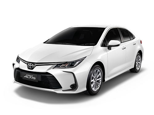 รถยนต์โตโยต้า Toyota Altis (Corolla) Logo