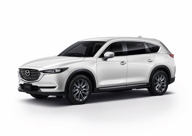 มาสด้า Mazda-CX-8 2.5 S SKYACTIV-G 7 Seat-ปี 2019