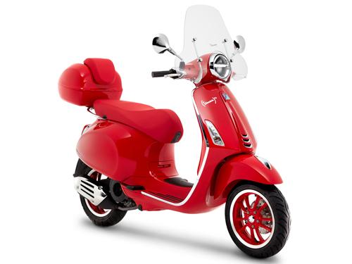 Vespa Primavera RED ปี 2020 ราคา-สเปค-โปรโมชั่น