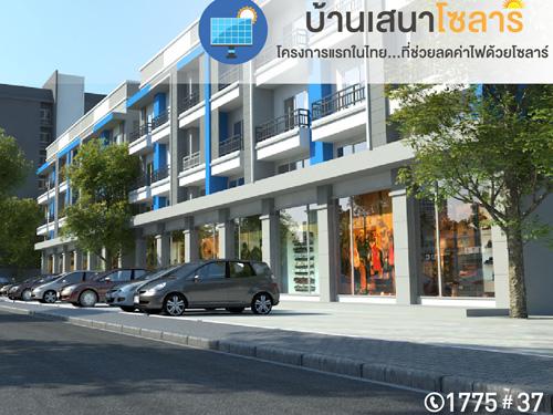 เสนา ช็อปเฮ้าส์ สุขุมวิท 113 (Sena Shop House Sukhumvit 113) ราคา-สเปค-โปรโมชั่น