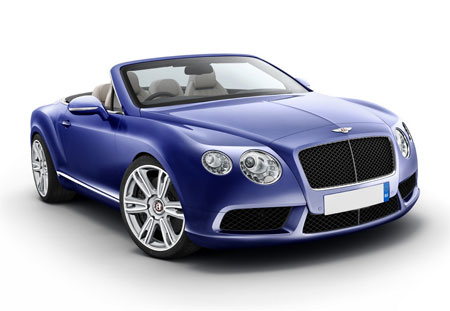 เบนท์ลี่ย์ Bentley-Continental GT V8 Convertible-ปี 2012