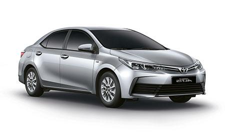 โตโยต้า Toyota-Altis (Corolla) 1.6 J M/T-ปี 2017