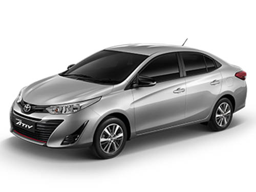 โตโยต้า Toyota-Yaris ATIV Mid-ปี 2019