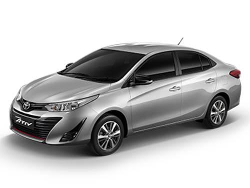 Toyota Yaris ATIV Mid ปี 2019 ราคา-สเปค-โปรโมชั่น