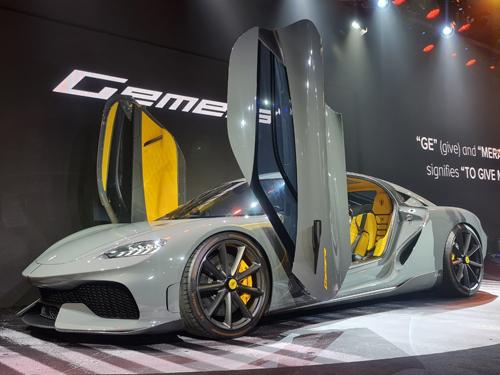 รถยนต์ปิยะ อินเตอร์เนชั่นแนล Koenigsegg Gemera Logo
