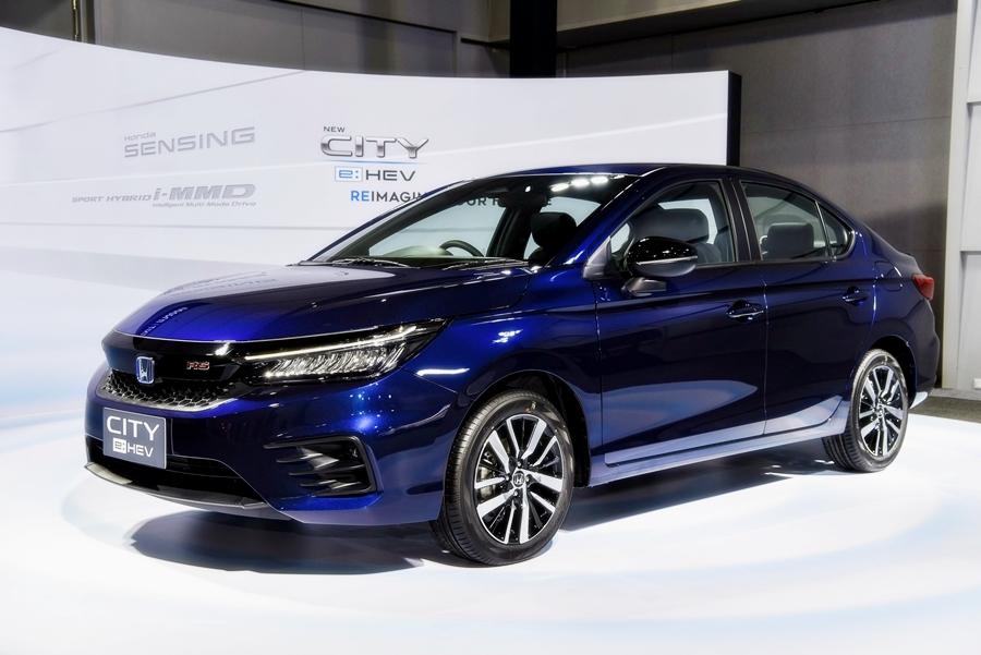 Honda City e:HEV RS ปี 2020 ราคา-สเปค-โปรโมชั่น