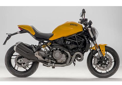 ดูคาติ Ducati-Monster 821 Yellow/Black MY18-ปี 2018
