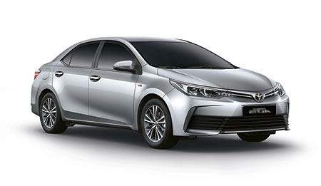 โตโยต้า Toyota-Altis (Corolla) 1.6 E CNG-ปี 2017