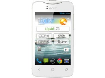 Acer Liquid Z 3s ราคา-สเปค-โปรโมชั่น