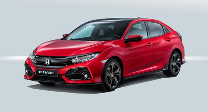 ฮอนด้า Honda-Civic 1.5 Turbo Hatchback-ปี 2017