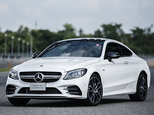 Mercedes-benz AMG C 43 4MATIC Coupe CKD MY2019 ปี 2018 ราคา-สเปค-โปรโมชั่น