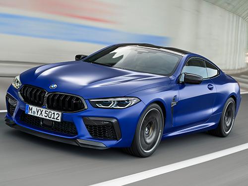 BMW M8 ทุกรุ่นย่อย