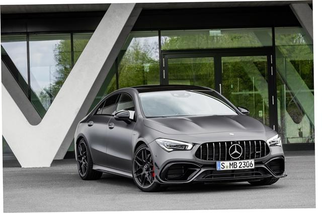 เมอร์เซเดส-เบนซ์ Mercedes-benz-CLA-Class AMG 45 S 4MATIC+-ปี 2020