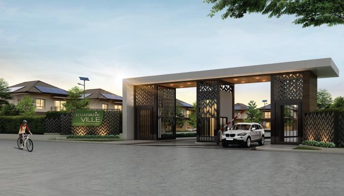 บ้านเสนาดีเวลลอปเม้นท์ เสนา พาร์ค วิลล์ Logo