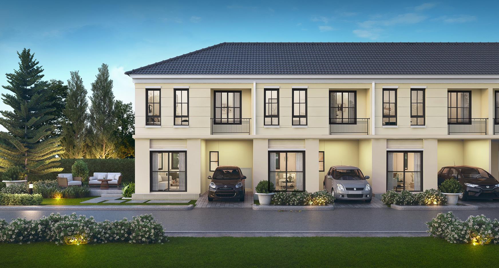 บ้านพฤกษา ศรีนครินทร์ - บางนา โครงการ 3 (Baan Pruksa Srinakarin - Bangna 3) ราคา-สเปค-โปรโมชั่น
