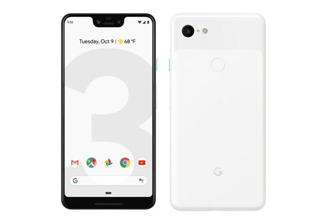 โทรศัพท์มือถือกูเกิล Google Pixel 3 Logo