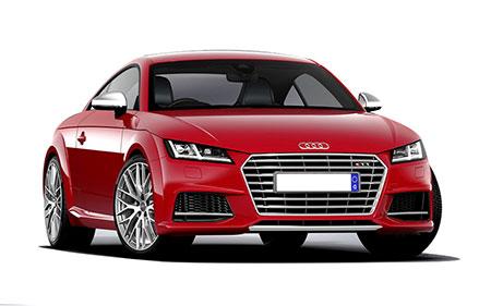 รถยนต์อาวดี้ Audi TTS Logo