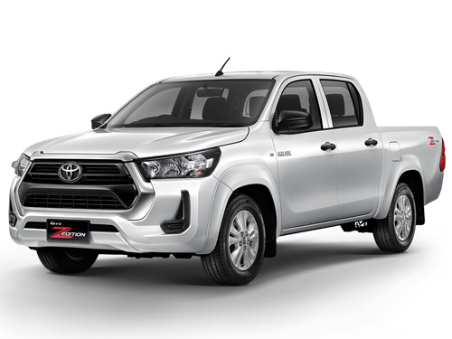 Toyota Revo Double Cab Z-Edition 4x2 2.4 Mid AT MY2020 ปี 2020 ราคา-สเปค-โปรโมชั่น
