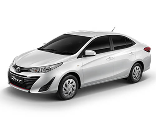 โตโยต้า Toyota-Yaris Ativ Entry-ปี 2019