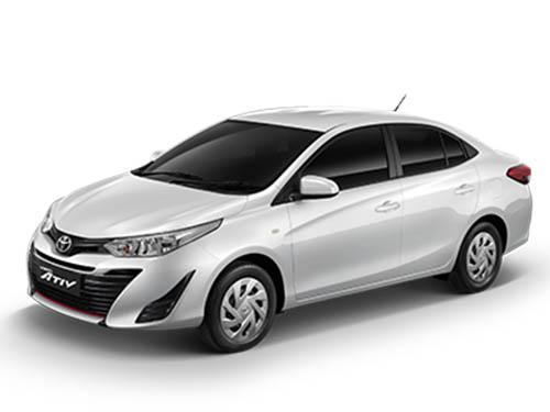 Toyota Yaris Ativ Entry ปี 2019 ราคา-สเปค-โปรโมชั่น