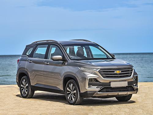Chevrolet Captiva LS (หมด) ปี 2019 ราคา-สเปค-โปรโมชั่น