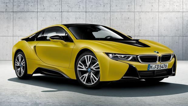 บีเอ็มดับเบิลยู BMW-i8 Protonic Frozen Yellow-ปี 2017