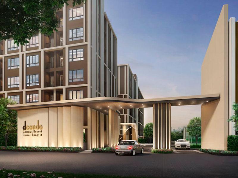 ดีคอนโด แคมปัส โดม-รังสิต (dcondo Campus Dome-Rangsit) ราคา-สเปค-โปรโมชั่น