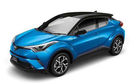 Toyota C-HR 1.8 Entry ปี 2019 ราคา-สเปค-โปรโมชั่น