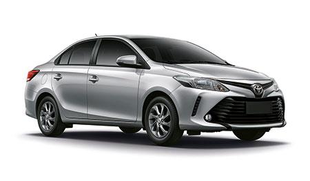 โตโยต้า Toyota-Vios 1.5 E CVT-ปี 2017