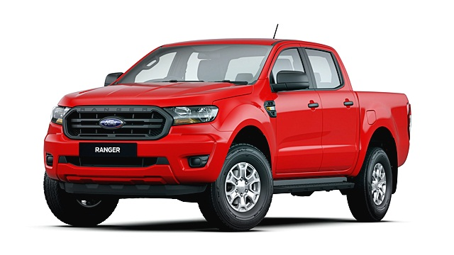 ฟอร์ด Ford-Ranger Double Cab 2.2L XL+ 4x2 Hi-Rider 6MT-ปี 2019