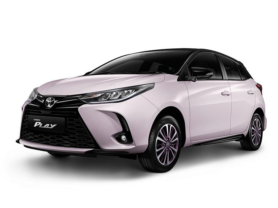 Toyota Yaris Play Sport ปี 2021 ราคา-สเปค-โปรโมชั่น