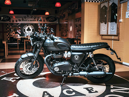 ไทรอัมพ์ Triumph-Bonneville T120 Diamond Edition Ace-ปี 2019