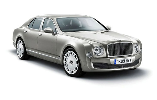 Bentley Mulsanne Logo