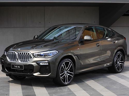 BMW X6 ทุกรุ่นย่อย