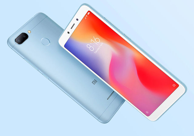 Xiaomi Redmi 6 64GB ราคา-สเปค-โปรโมชั่น