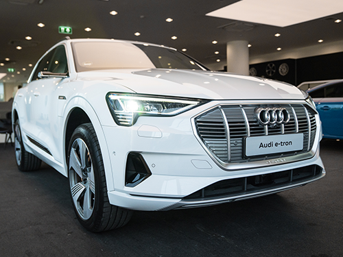 ออดี้ Audi-e-tron 55 quattro 2019-ปี 2019